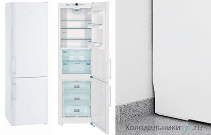 Внешний вид холодильника Liebherr CBN 3913