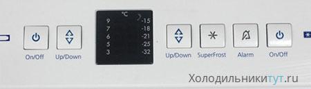Панель управления холодильника Liebherr CBN 3913